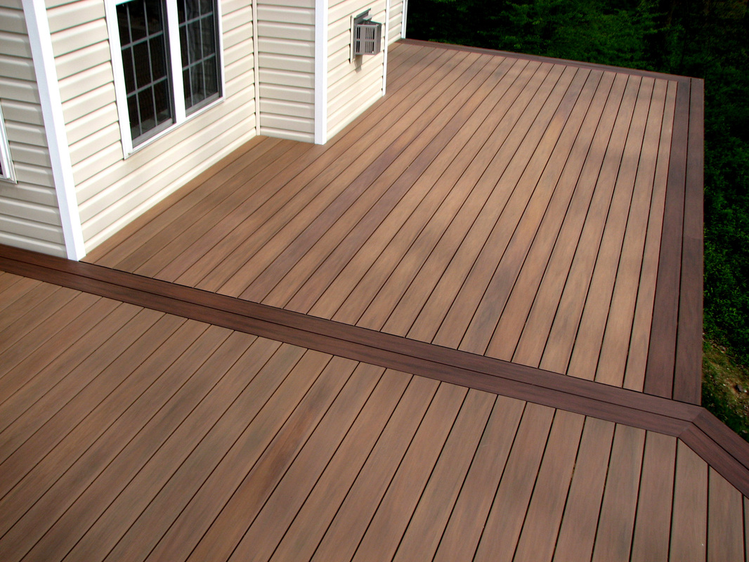 Melbourne composite decking composite decking builders for Garden decking borders
