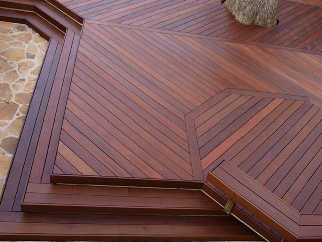 Timber decking melbourne leisure decking for Which timber for decking