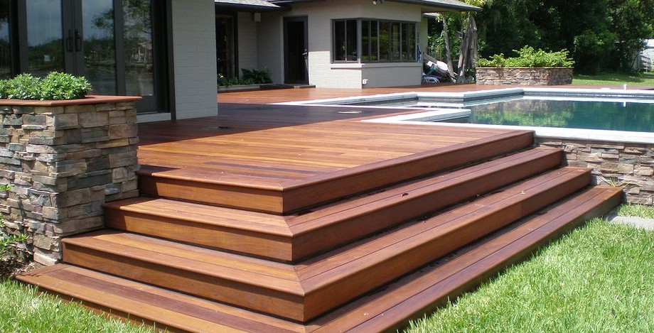 Timber decking leisure decking outdoor living for Timber deck construction