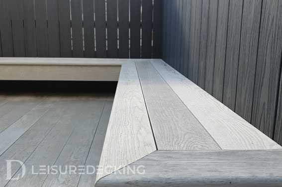 Corner Deck Lounge Built by Leisure Decking Melbourne