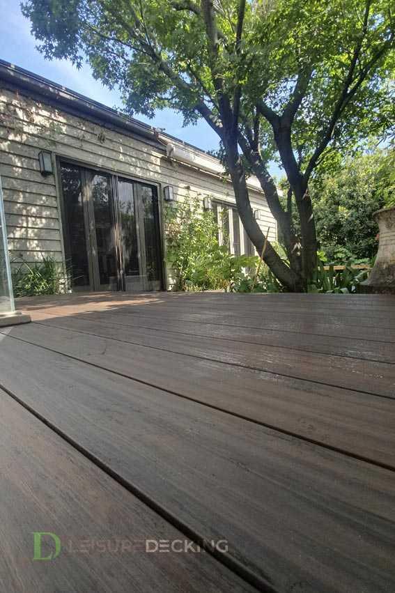 Redwood Poliwood Composite Decking