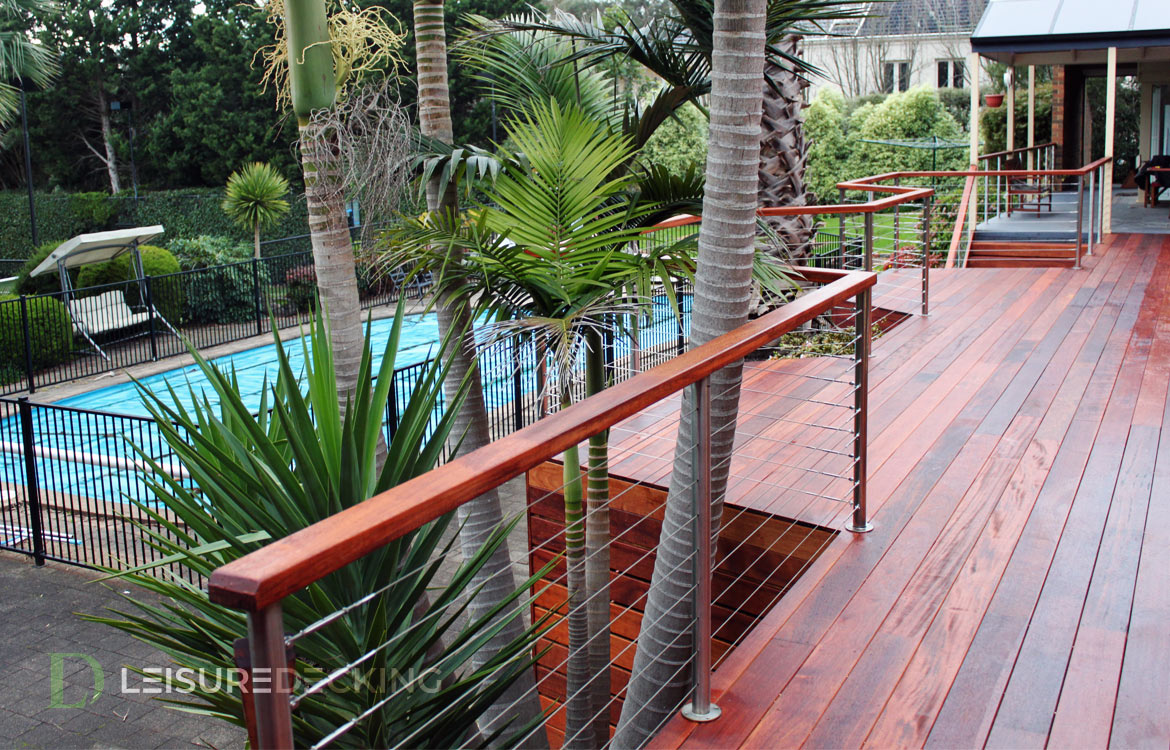 Merbau Decking in Templestowe, Melbourne