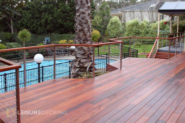 Merbau Timber Decking in Templestowe, Melbourne