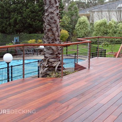 Merbau Timber Decking in Templestowe, Melbourne
